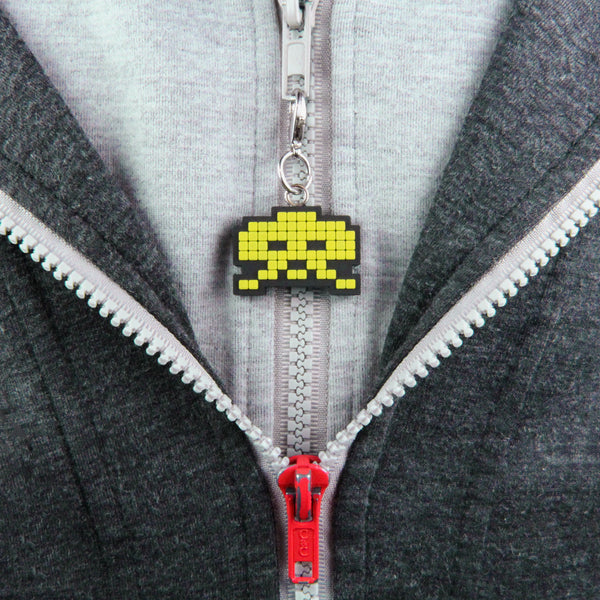 Space Invaders Zipper Pulls
