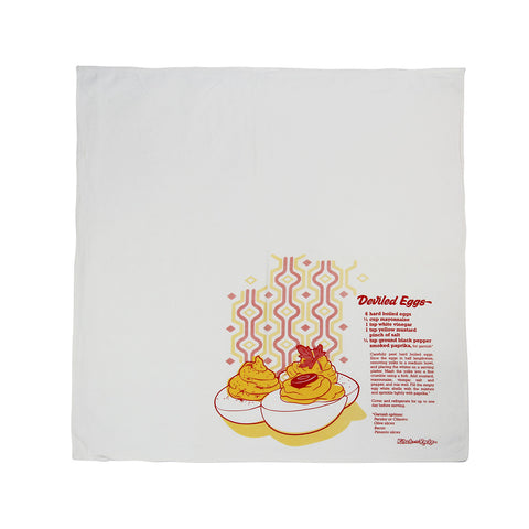 Flour Sack Towel - Deviled Eggs