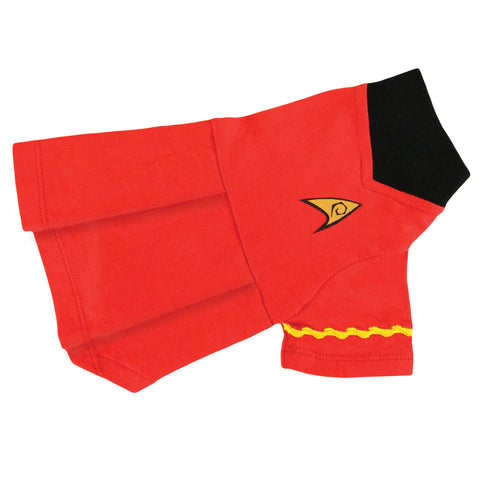 Uhura Uniform Dog Dress