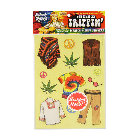 Scratch-N-Sniff Stickers - You Must Be Trippin'