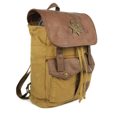 Rick Grimes Sheriff Backpack - Desert Brown