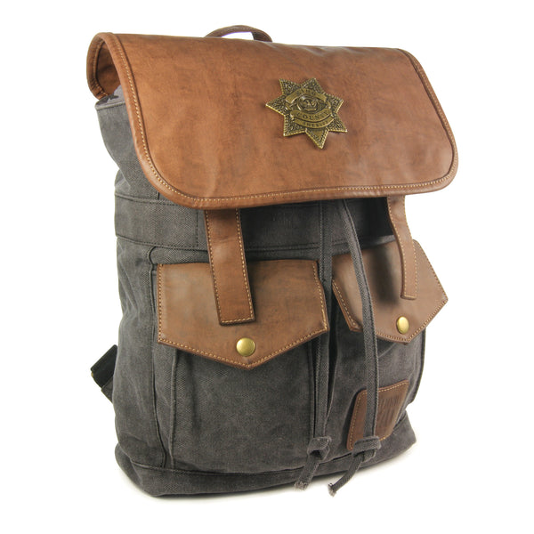 Rick Grimes Sheriff Backpack - Black