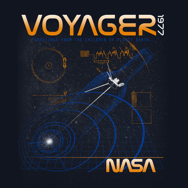NASA Voyager T-shirt- Men's