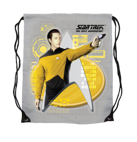 Lt. Commander Data Cinch Bag
