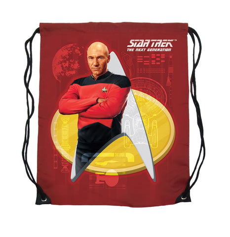 Captain Picard Cinch Bag