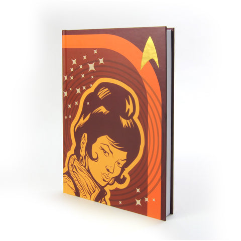Uhura Retro Space Journal/Hardcover