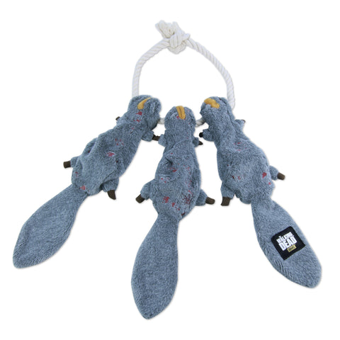 Daryl's Squirrels-on-a-Rope Plush Tug Toy