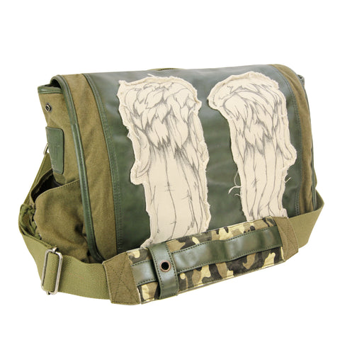 Daryl Wings Messenger - Fatigue Green