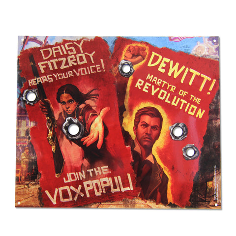 Vox Revolution Tin Sign