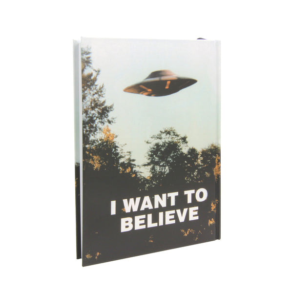 X-Files - I Want to Believe Journal/Hardcover
