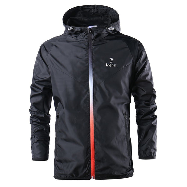 Men Windbreaker Running Jacket