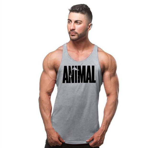 Fitness Singlet Sleeveless Shirt