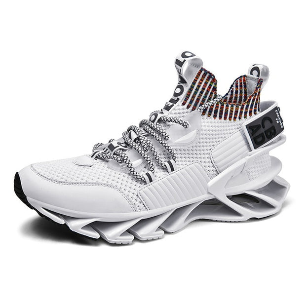 Elastic Mesh Jogging Shoes