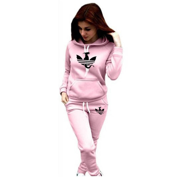 Casual Tracksuit Pullover Set