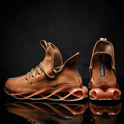 Waterproof Leather Sneakers