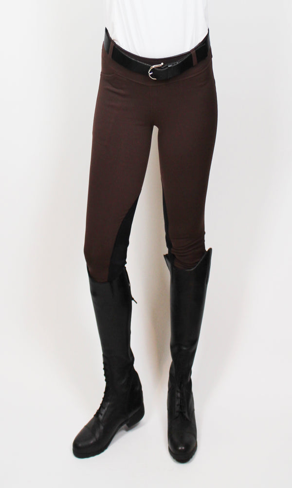 Signature Knee Patch Breeches Ponderosa Pine Cone