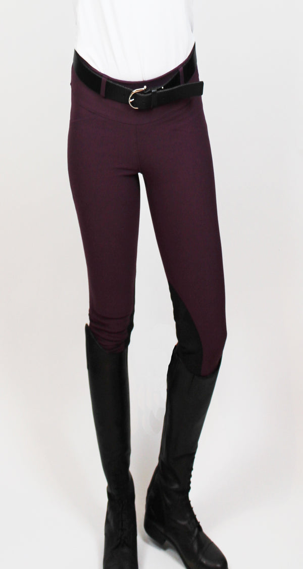 SALE!! FALL 2018 Signature Knee Patch Breeches Violet Columbine