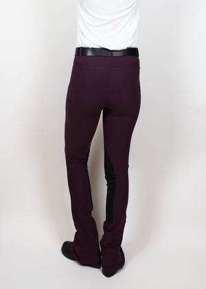 SALE!! FALL 2018 Signature Knee Patch Jods Violet Columbine