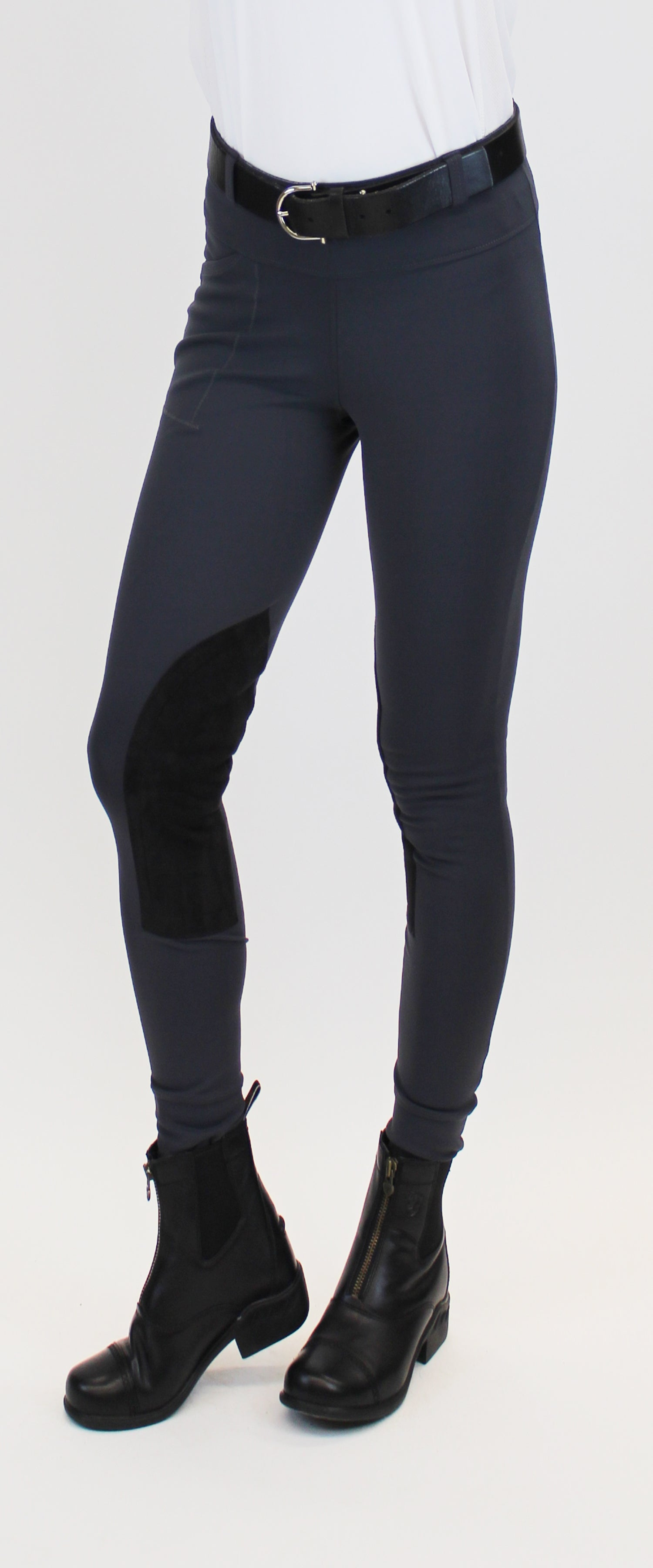 Signature Knee Patch Breeches Basalt Alympic Equestrian