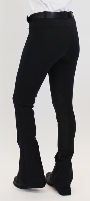 SALE BF-CM 15% OFF EXTENDED!!!! Signature Knee Patch Jods Black Lava