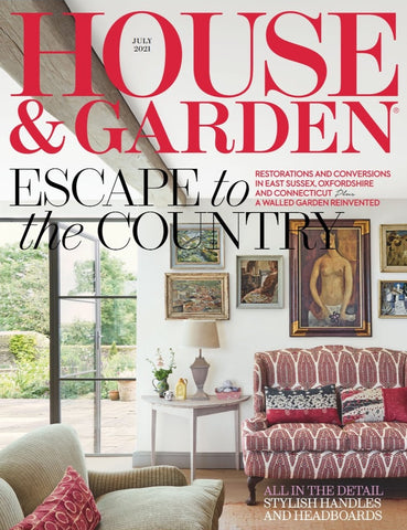 House and Garden Front Cover from issue with Judy Century Art Painting Feature