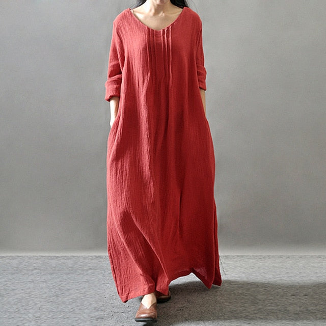 En Voyage - Travel Inspired Boutique Meknes Kaftan - Red