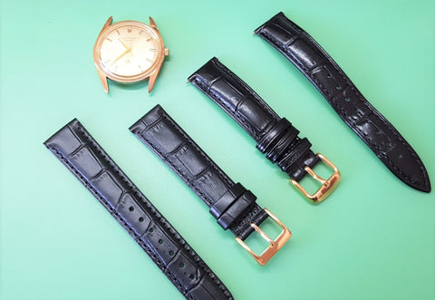 Choosing a new strap for the newly serviced watch