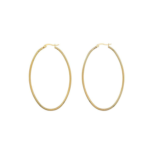 Oversized Thin Hoops