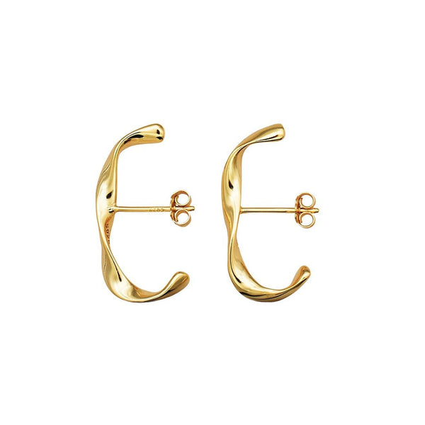 Twisted Suspender Earrings