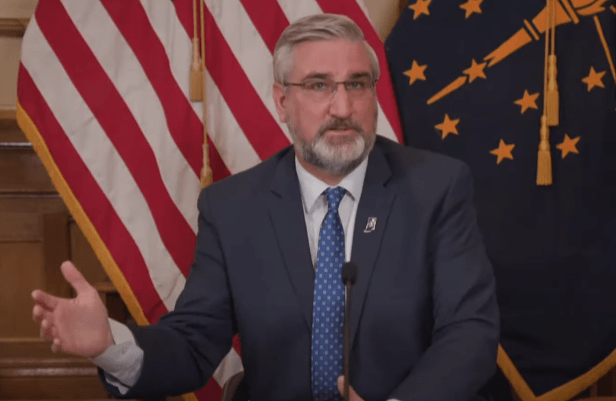 Governor Holcomb address on next steps in Indiana's fight against COVID-19 (Mar. 23, 2021) | Indiana Face Mask