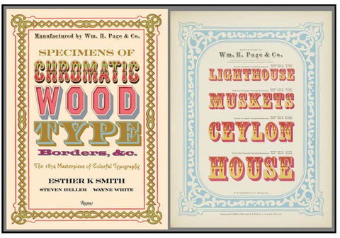 cover and pages from chromatic type, Esther K. Smith