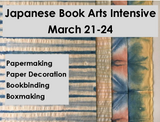 #8010 Japanese Book Arts Intensive, with Anne Covell - March 21-24