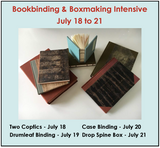 #8011 Bookbinding & Boxmaking Intensive, with Anne Covell - July 18-21