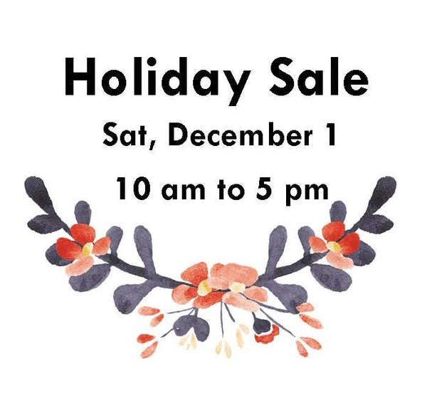 Holiday Sale table reservation, Dec 1