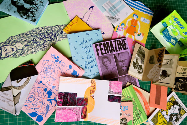 #2017 Where Zines Meet Artists' Books -with Rachel Curry, June 13-27