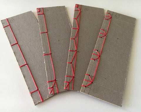 #5090 Japanese Stab Binding Sampler, Oct 17, with Anne Covell