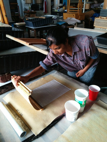 #4007 - Islamic World Papermaking Workshop by Radha Pandey, June 17-18