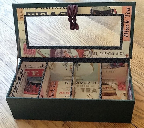 #5029 Cartonnage Tea Caddy, Oct 14-15, with Betsy Begue