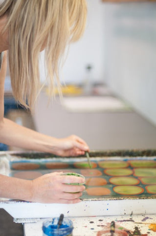 #4009, Introduction to Marbling with Barb Skoog, July 15-16