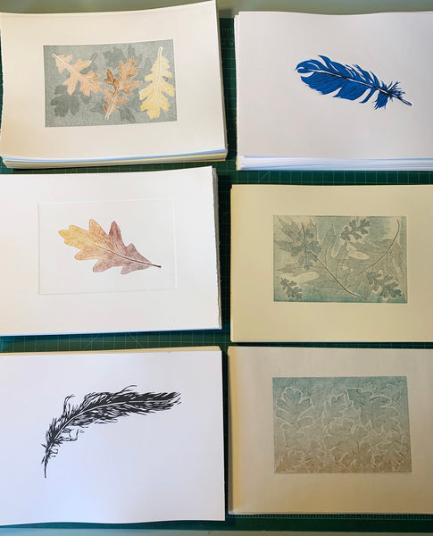 #3009 Print at Home: Craft Press Printmaking, Jan 23 with Rebecca Chamlee