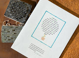#2022 - Letterpress personalized stationery, with Sue Kaplan - Oct 22