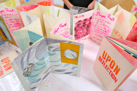 #2021 Where Zines Meet Artists' Books-with Rachel Curry, Sept 12-26