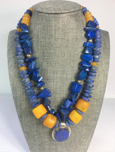 Load image into Gallery viewer, Lapis Pendant Necklace