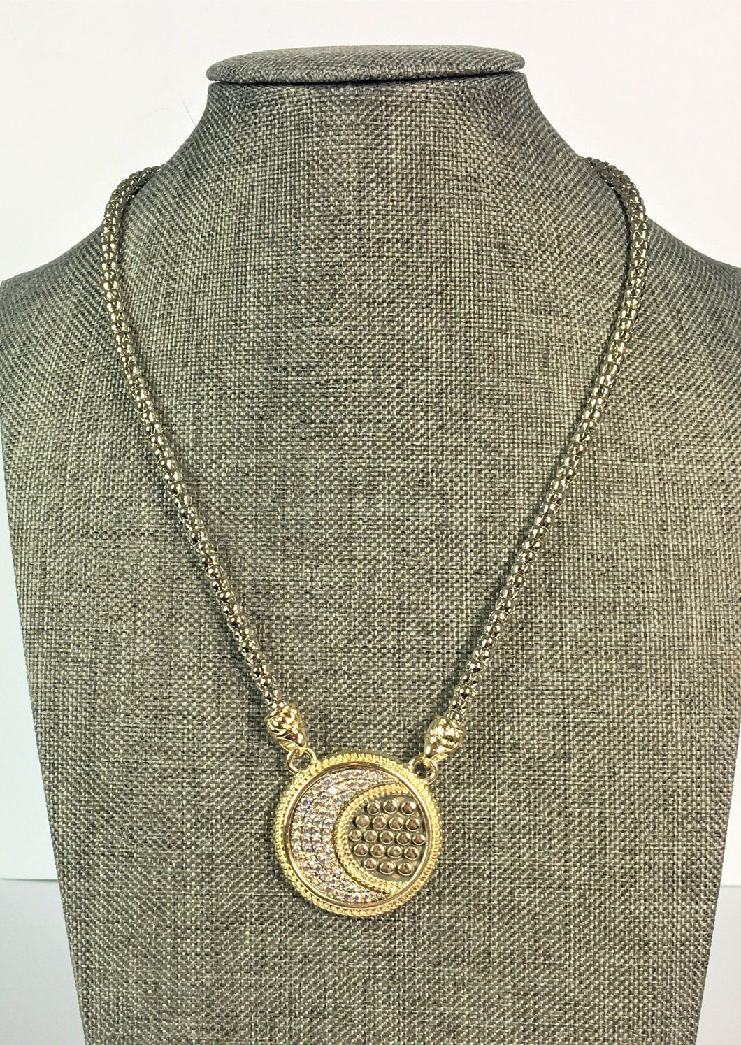 John Hardy Inspired Moon Necklace