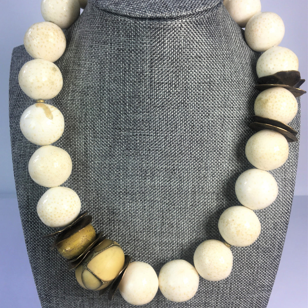 Natural Seed Agate Necklace