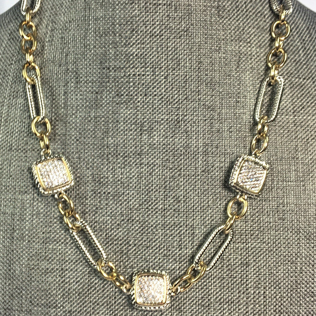 Hardy Inspired 2-Tone Necklace