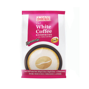 Gold Kili 2 in 1 Espressccino White Coffee