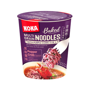Koka Multigrain Purple Cup Noodles #Pepper Crab (65g)