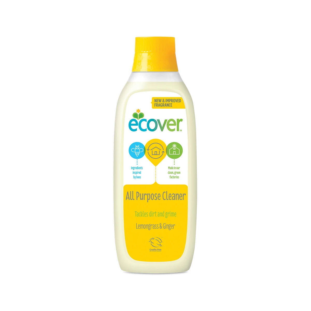Ecover All Purpose Cleaner - Lemongrass & Ginger (1L)