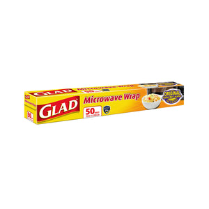 Glad Microwave Wrap (50Ft)